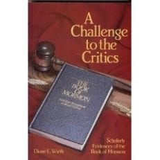 A Challenge to the Critics (Clearance)