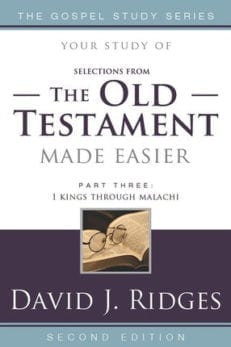 Your Study of the Old Testament Made Easier vol. 3