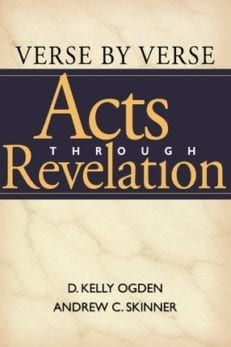 Verse by Verse: Acts through Revelation