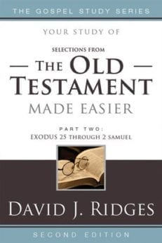 Old Testament Easier, Second Edition (Part 2) (Gospel Study), The